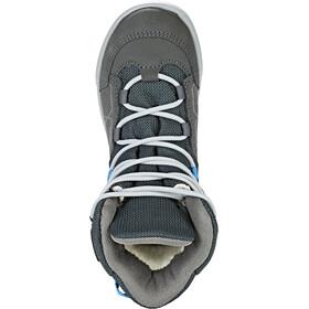 Lowa Raik GTX Mid Shoes Kids anthrazit/blau